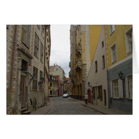 Riga Lettland Karte