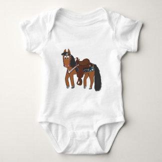 Riki Westernpferd Baby Strampler