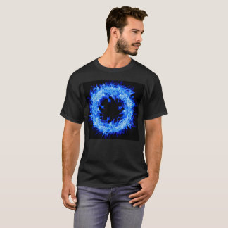 Ring des blauen Feuer-T - Shirt