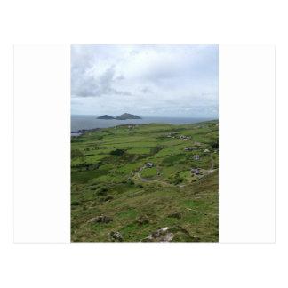 Ring des Iren-Meerblicks Kerrys Irland Postkarte