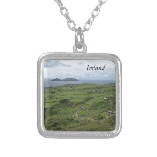 Ring des Iren-Meerblicks Kerrys Irland Versilberte Kette