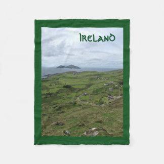 Ring Küsten-Irland-Decke Kerrys irischer Fleecedecke