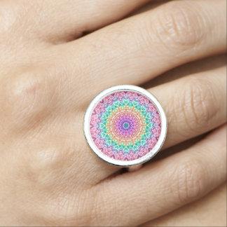 Ring-Mandala Mehndi Art G379 Ringe