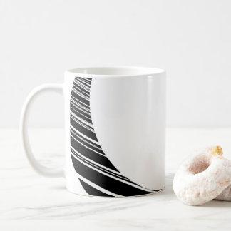 Ring Schwarzweiss Kaffeetasse