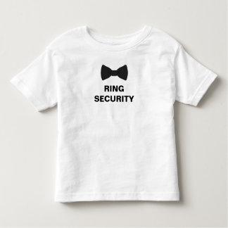 Ring-Sicherheits-Ring-Träger Kleinkind T-shirt