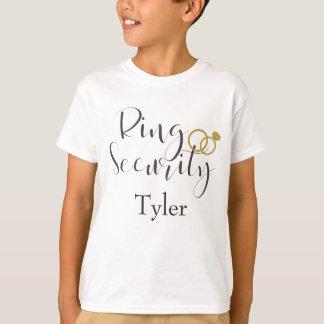 Ring-Sicherheits-Ring-Träger personifizieren T-Shirt