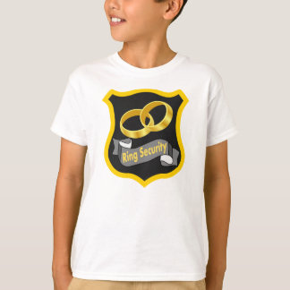 RING-SICHERHEITS-T-SHIRT, RING-TRÄGER-T-SHIRT T-Shirt