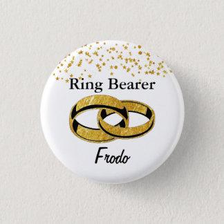 Ring-Träger-Flair Runder Button 3,2 Cm