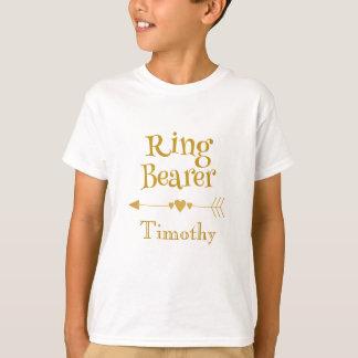 Ring-Träger personifizieren T-Shirt