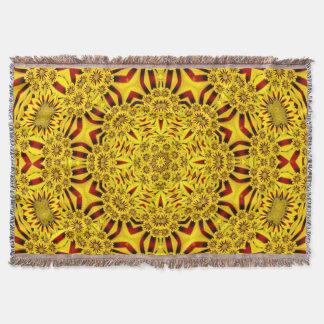 Ringelblumen-bunte Wurfs-Decke Decke