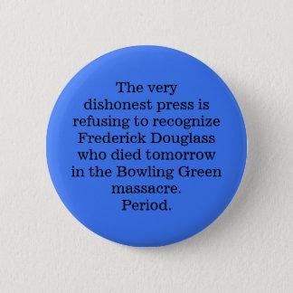 RIP Frederick Douglass Runder Button 5,7 Cm