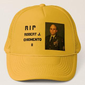 RIP Robert J. Chiomento II Truckerkappe
