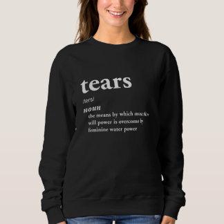 Riss-lustiger Definitions-Ironie-Zynismus cool Sweatshirt