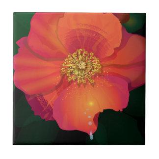 Riss-Tropfen-Blume Keramikfliese