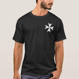Ritter Hospitaller Kampf-Schrei-Shirt T-Shirt