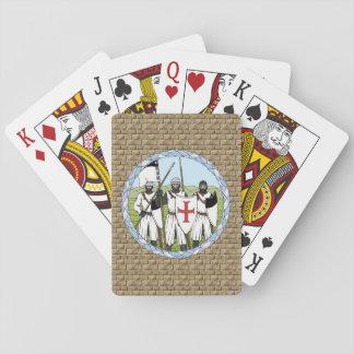 Ritter Templar Spielkarten