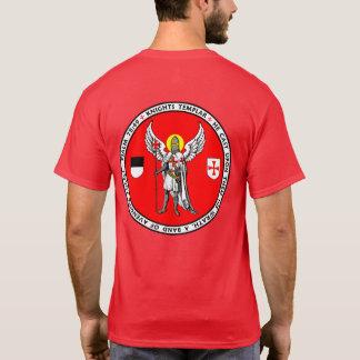 Ritter Templar Wächter-Engels-Siegel-Shirt T-Shirt