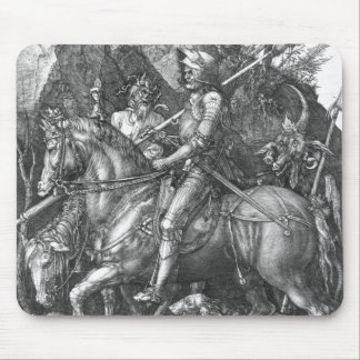 Ritter, Tod und der Teufel, 1513 (Stich) Mousepads