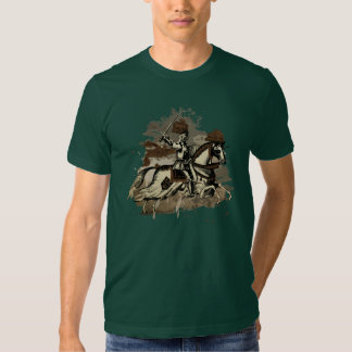 Ritter zu Pferd Tshirts