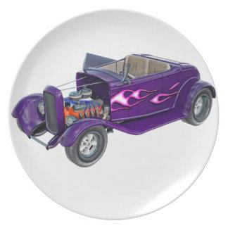 Roadster 1932 mit dem Motor angezeigt Essteller