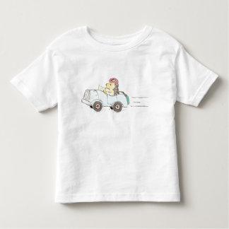 Roadster-Igel Kleinkinder T-shirt