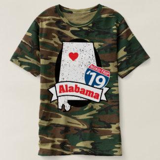 Roadtrip Alabama '19 T - Shirt (Camouflage)