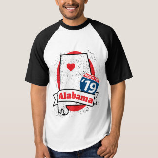 Roadtrip Alabama '19 T - Shirt (ragland)