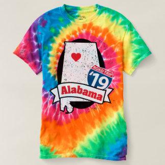 Roadtrip Alabama '19 T - Shirt (Regenbogen)