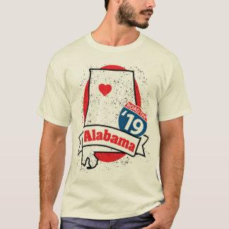 Roadtrip Alabama '19 T - Shirt (weiß)