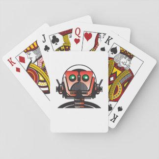 Robbie die Spielkarten des Roboters vom Buch DACH
