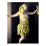 Robe de banane carte postale