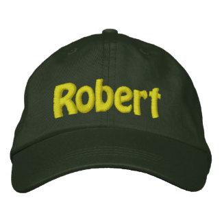 Robert Bestickte Baseballkappe