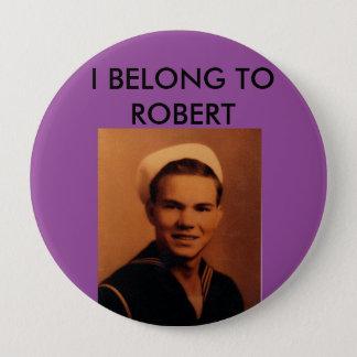 Robert-Familien-Wiedersehen-Knopf Runder Button 10,2 Cm