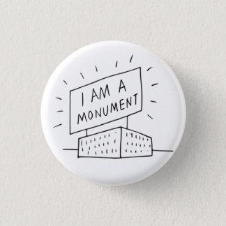 Robert Venturi bin ich ein Monument-Knopf Runder Button 2,5 Cm