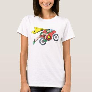 Robin et cycle t-shirt