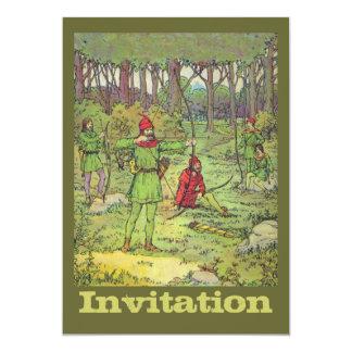 Robin Hood im Wald Karte