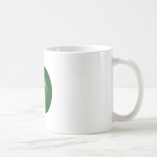 Robin Hood Seitenprofil-Kreis-Holzschnitt Tasse
