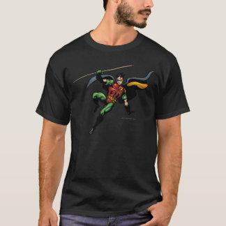 Robin mit Personal T-Shirt