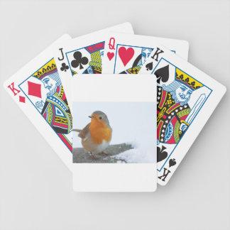 Robin-Rot-Brust Bicycle Spielkarten
