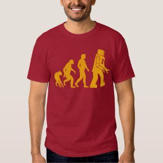 Roboter-Evolution Sheldon Fassbinder-großer T-shirts