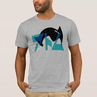 Roboter-Jungen-Haar T-Shirt