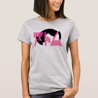 Roboter-Mädchen-Haar T-Shirt