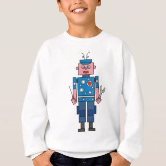 Roboter Mechanic Sweatshirt