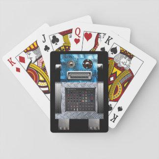 Roboter-Spielkarten Spielkarten