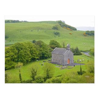 Roche de Dunamase, Irlande. Vues de et autour Carte Postale