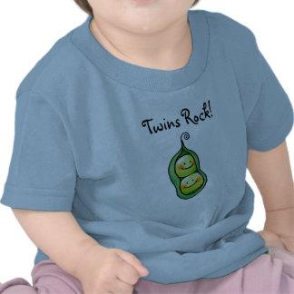 Roche de jumeaux t-shirt