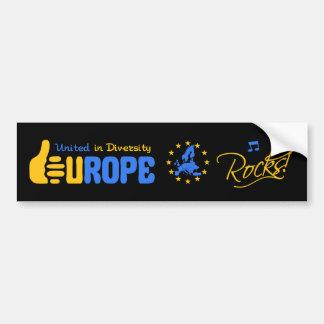 Roches de l'Europe ! bumpersticker Adhésif Pour Voiture