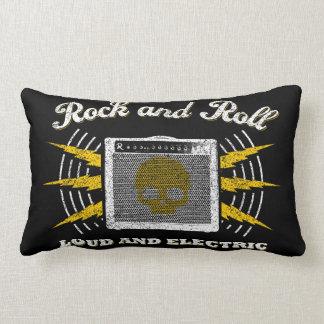 Rock-and-Roll laut und elektrisch. Beunruhigtes Lendenkissen