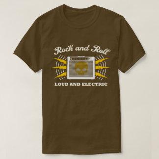 Rock-and-Roll: Laut und elektrisch. Brown T-Shirt