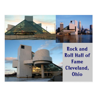 Rock-and-RollHall of Fame Cleveland, Ohio Postkarte